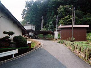 梶田駅入口